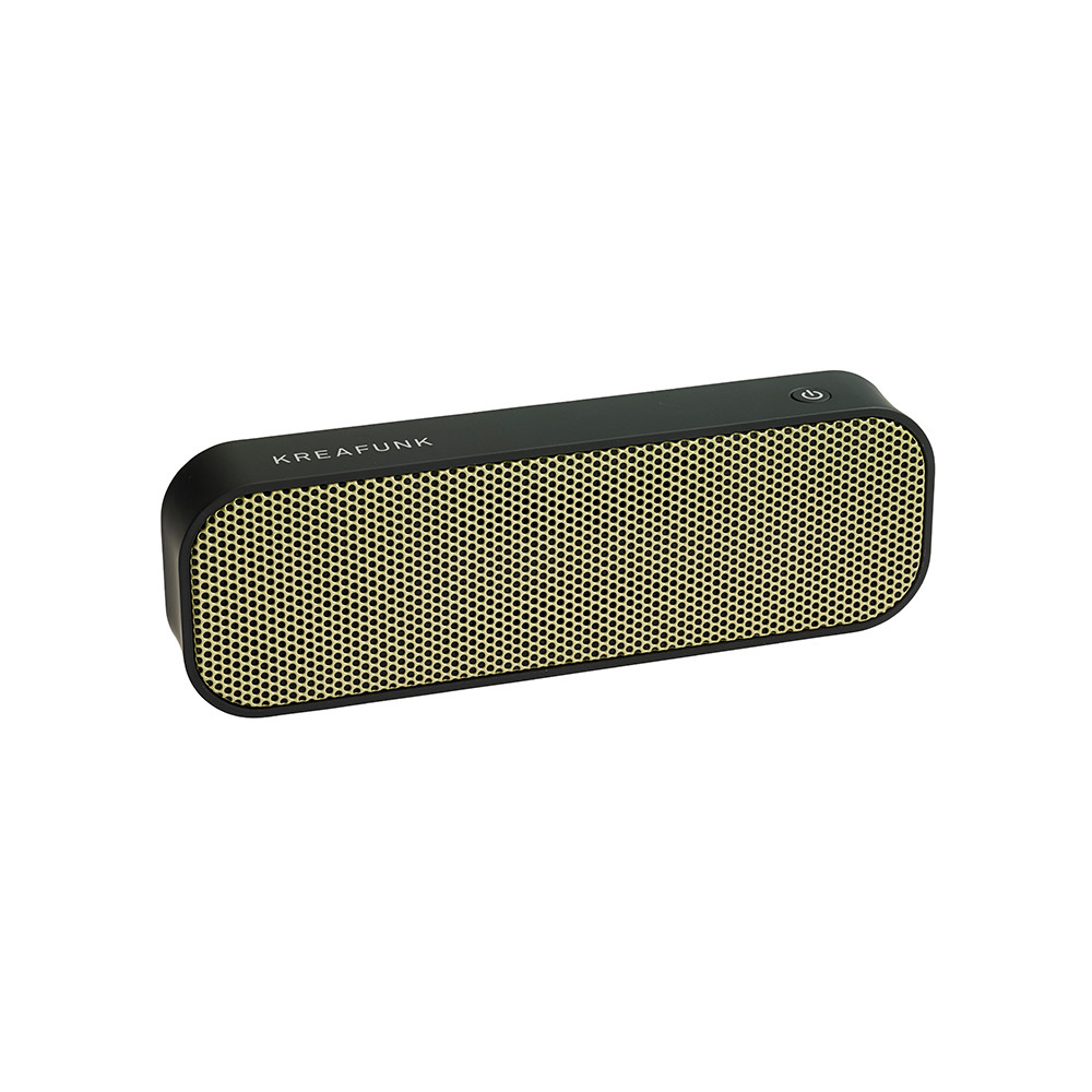 KREAFUNK - aGroove Bluetooth Speaker - Black