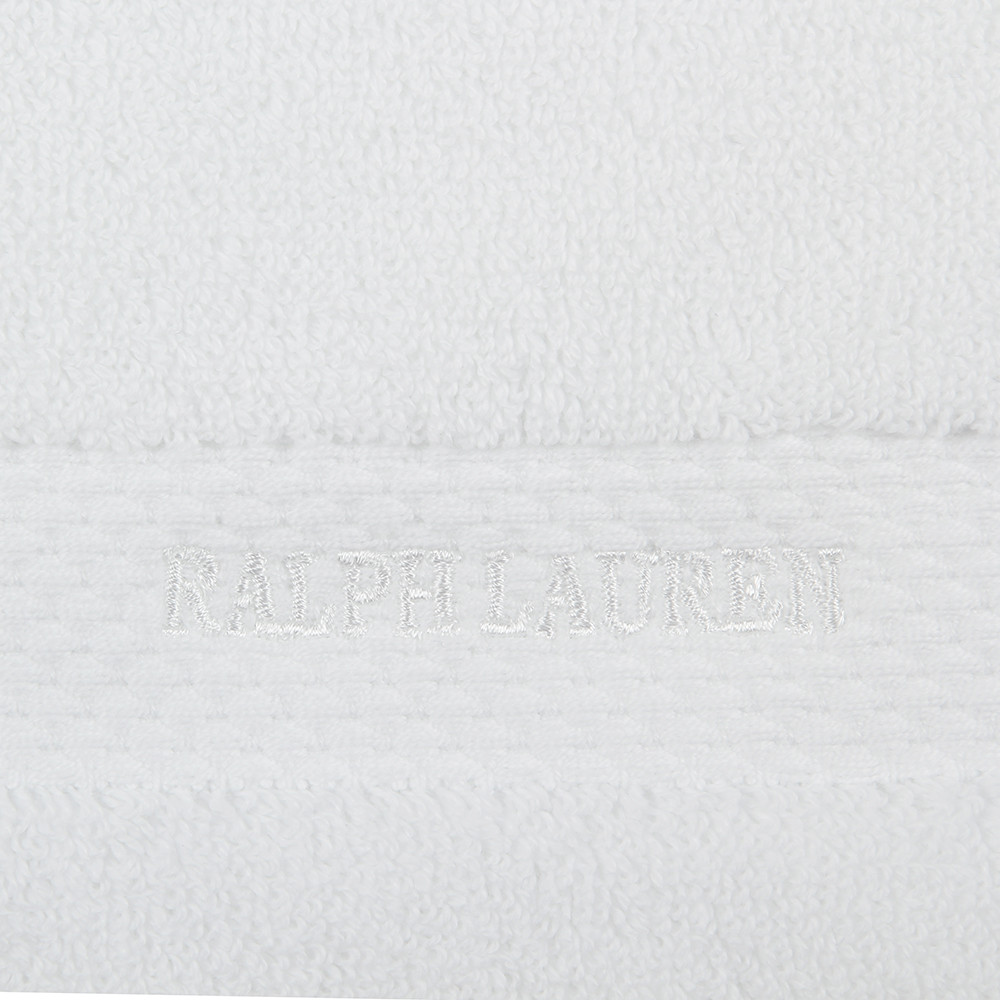 Ralph Lauren Home - Avenue Towel - White - Hand Towel