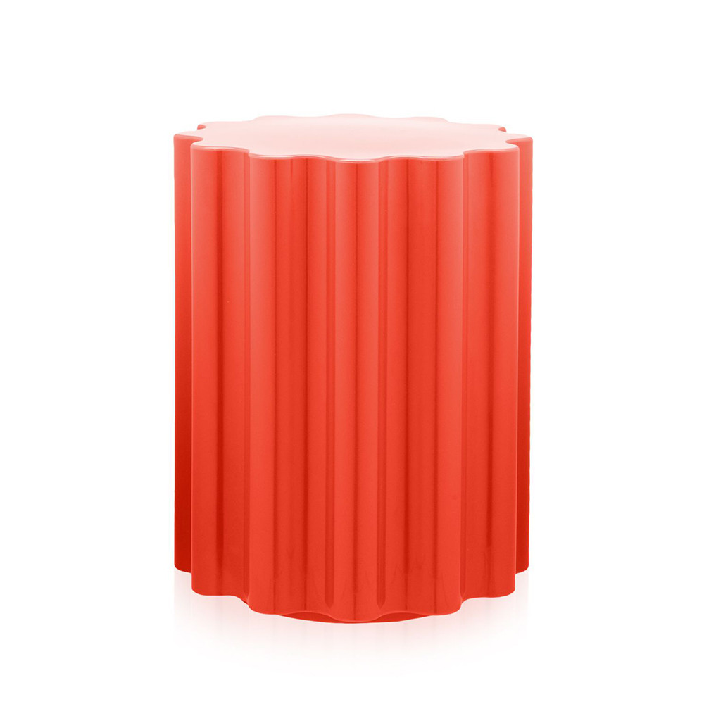 Kartell - Colonna Stool - Red