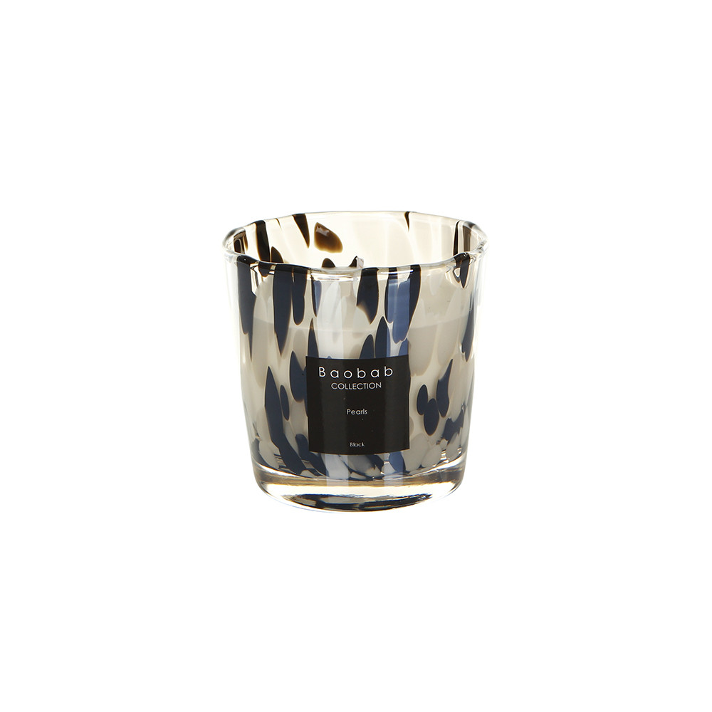 Baobab Collection - Pearls Scented Candle - Black Pearls - 8cm