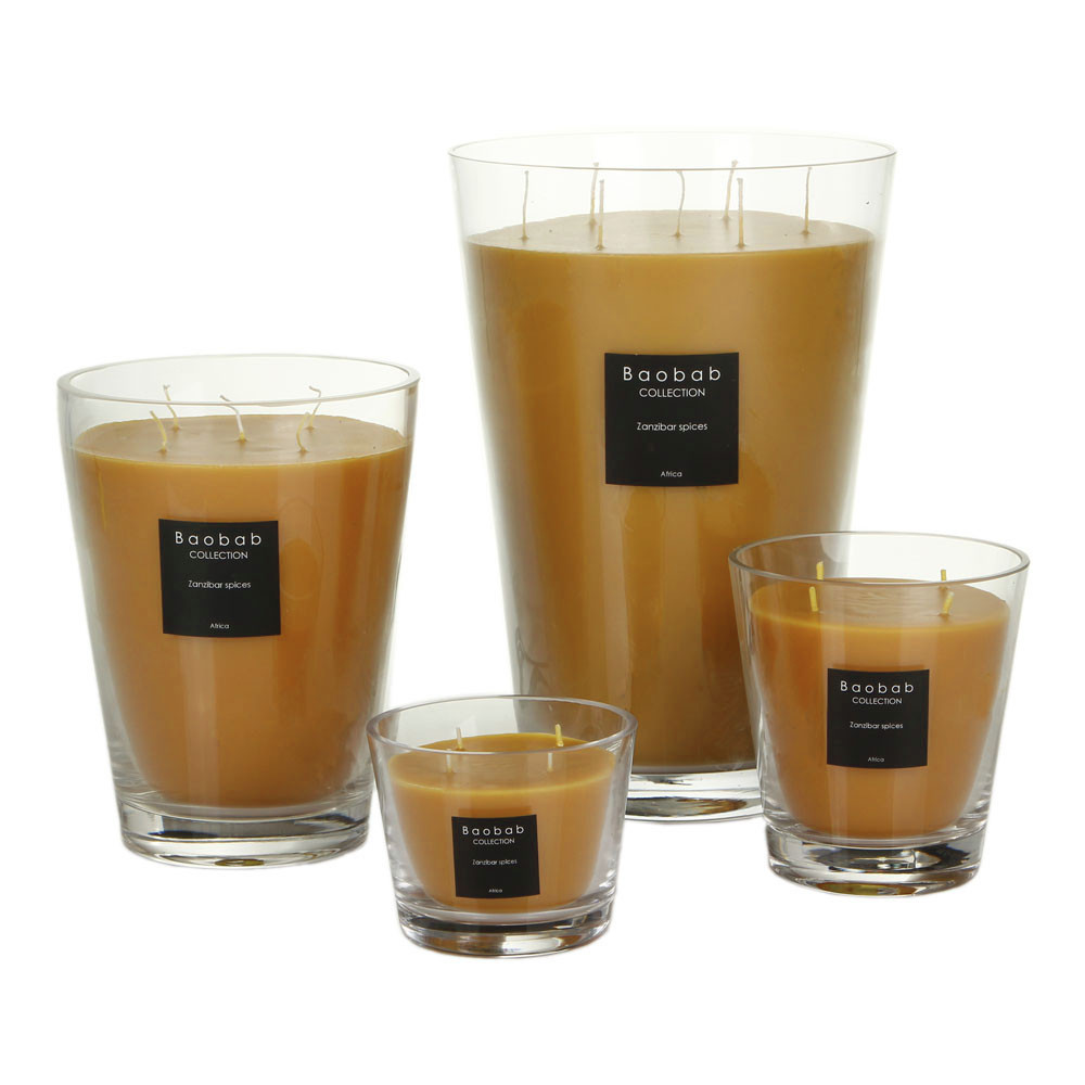 Baobab Collection - All Seasons Scented Candle - Zanzibar Spices - 10cm