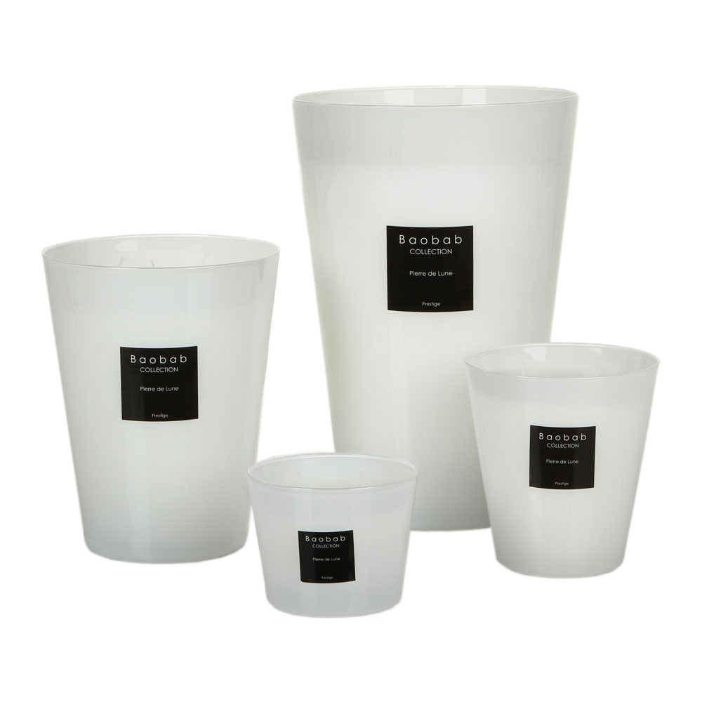 Baobab Collection - Scented Candle - Moonstone - 10cm