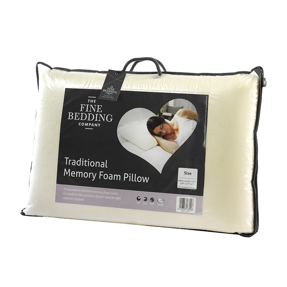 Traditional Memory Foam Trugel Pillow Reviews : Buy The Fine Bedding Company Traditional Memory Foam Pillow Amara