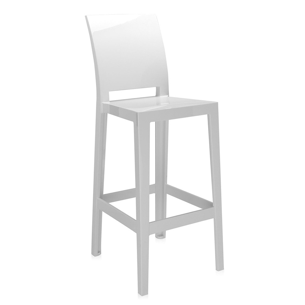 Kartell - One More Please Stool 75cm - White