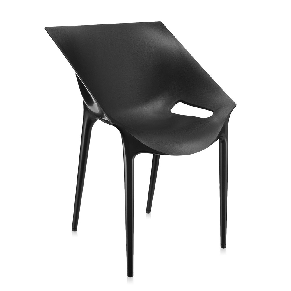 buy kartell dr yes chair black amara. Black Bedroom Furniture Sets. Home Design Ideas