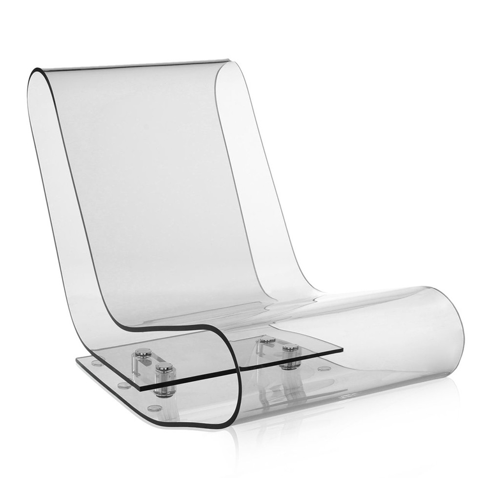 Kartell - LCP Chair - Crystal