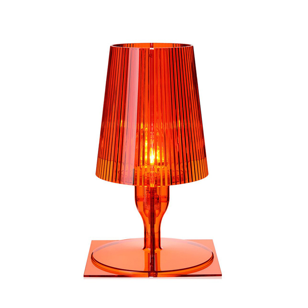 Buy kartell take table lamp orange amara geotapseo Image collections