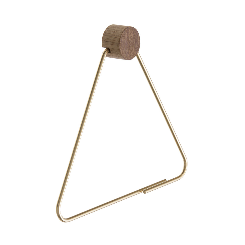 Ferm Living - Brass Toilet Paper Holder