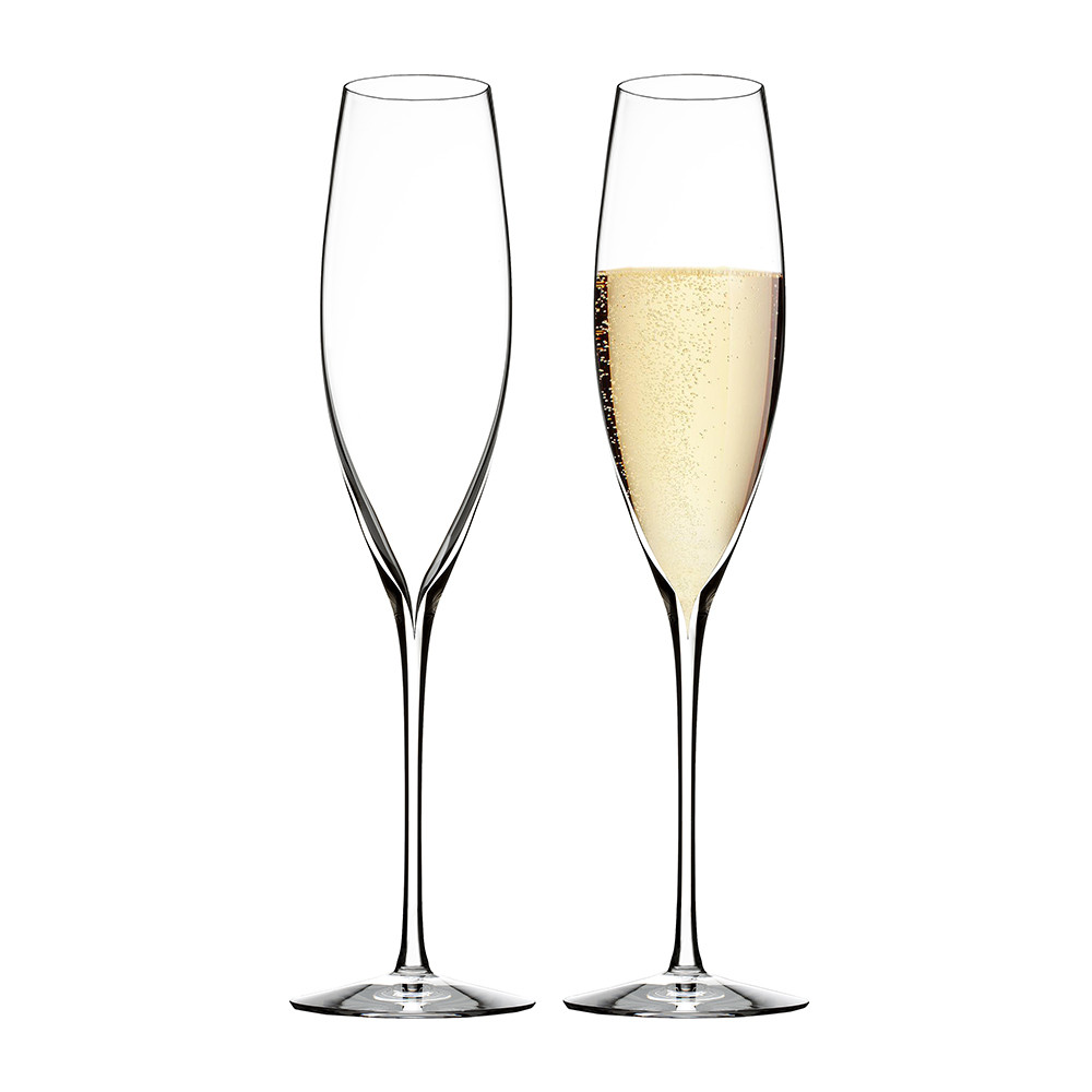 Buy waterford elegance champagne classic flutes set of 2 for Buy champagne glasses online