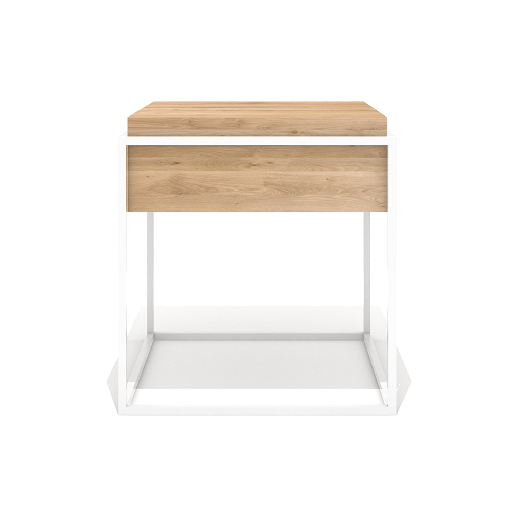 Monolit Side Table Small White
