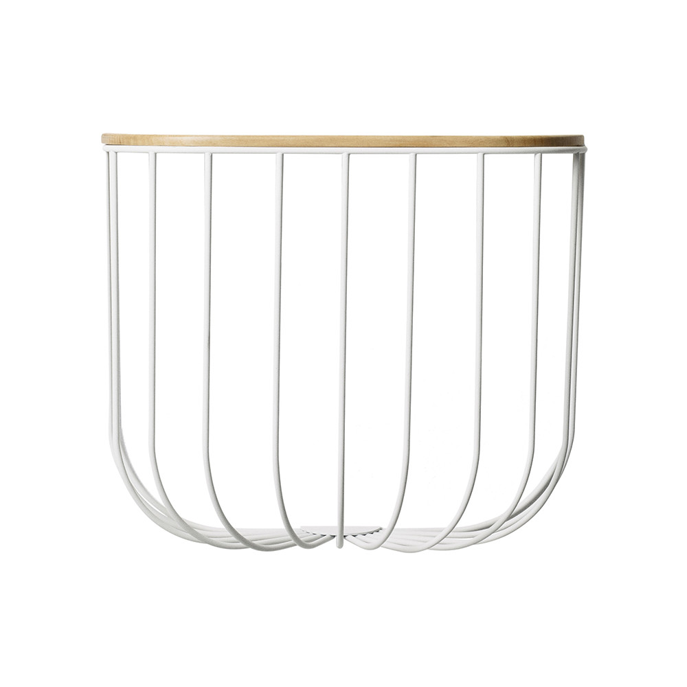 MENU - FUWL Cage Shelf - White/Light Ash