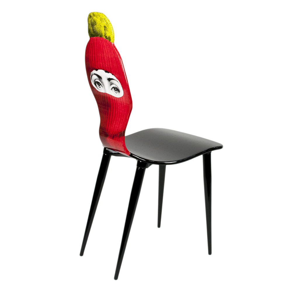 Fornasetti - Lux Gstaad Chair - Red
