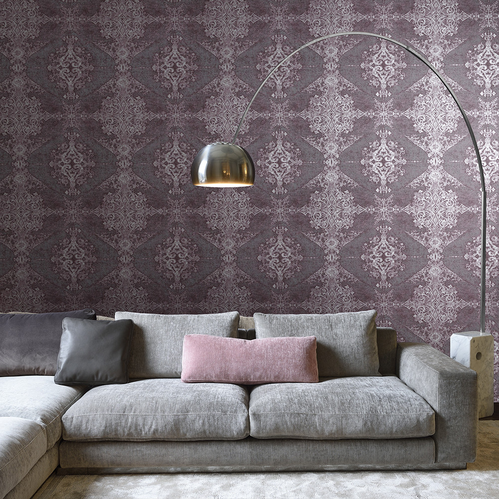 Buy arte arco wallpaper 88022 amara for Kleuren combineren interieur