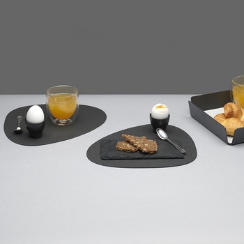 Set de Table Courbe - Noir
