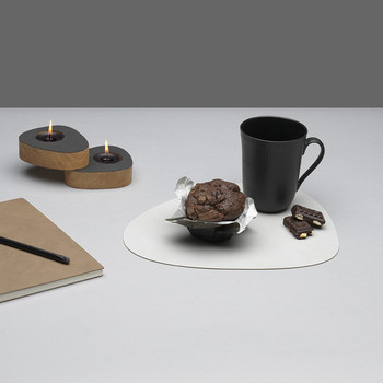 Curve Table Mat - Grey