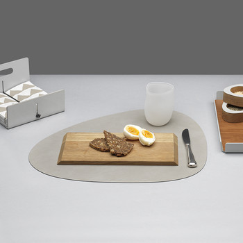 Curve Table Mat - Gray