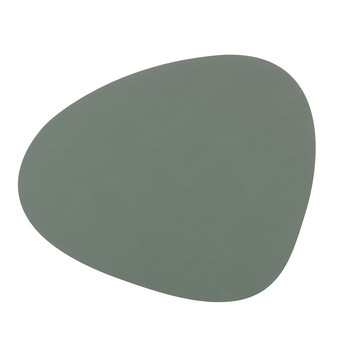 Table Mat Curve - Pastel Green