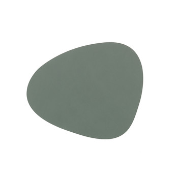 Curve Table Mat - Pastel Green