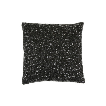 Jewel Cushion 25x25cm - Caviar
