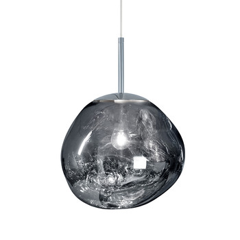 Melt Chrome Pendant Light