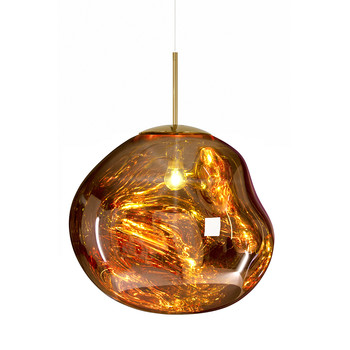 Melt Gold Pendant Light