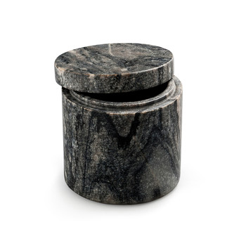 Small Marble Canister - Gray
