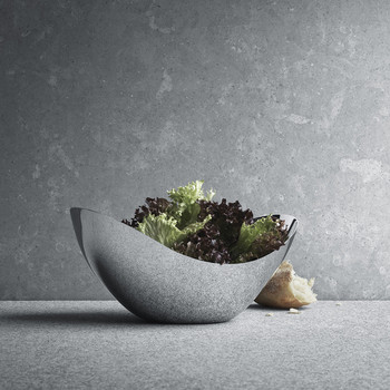 Bloom Tall Bowl - Stainless Steel