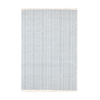 Fair Isle Rug - Swedish Blue - 122 x 183 cm