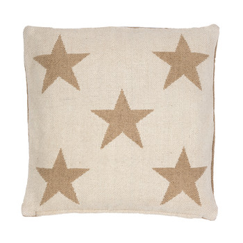 Star Cushion - Camel - 56x56cm