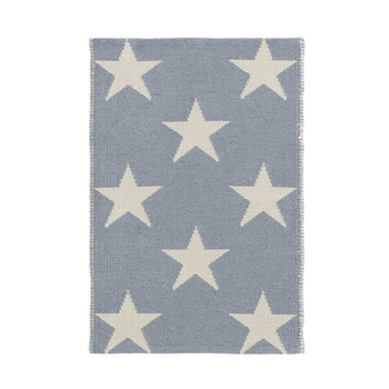 Star Rug - Swedish Blue