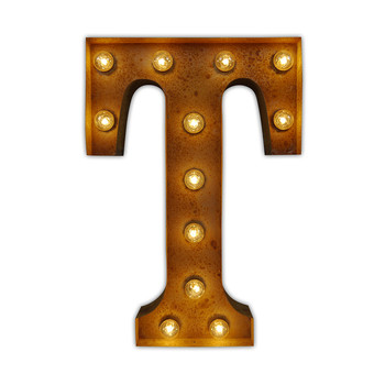 Alphabet Light - T