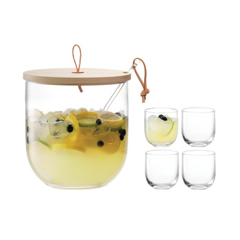 Ivalo Punch Bowl Set & Ash Lid