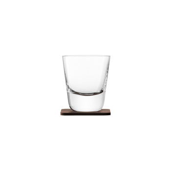 Whisky Arran Tumbler & Walnut Coaster - Set of 2