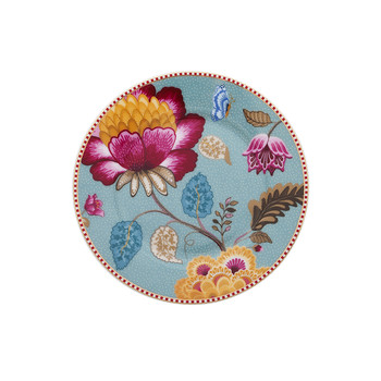 Fantasy Side Plate - Blue