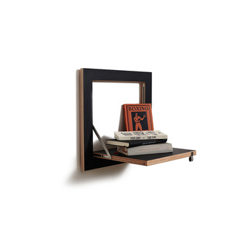 Flapps Single Folding Shelf - Black