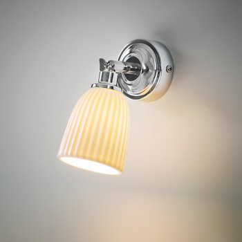 Alma Bathroom Spotlight - Ceramic