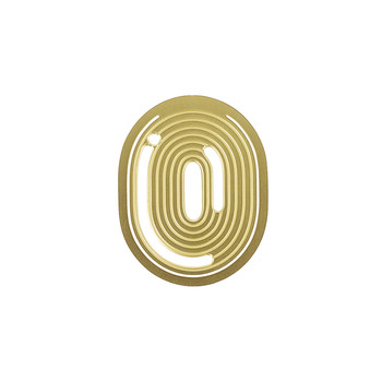 Numbers Paper Clips - Set of 10