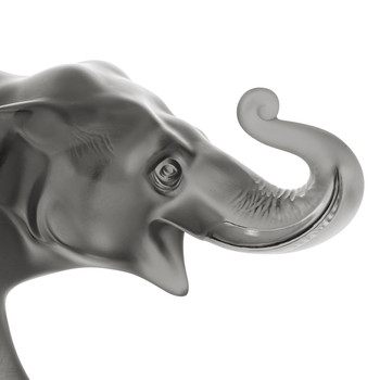 Sumatra Limited Edition Elephant Sculpture - Grey