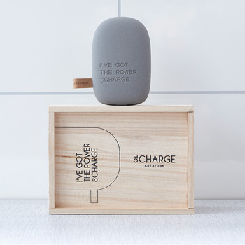toCharge Portable Charger - Dark Gray