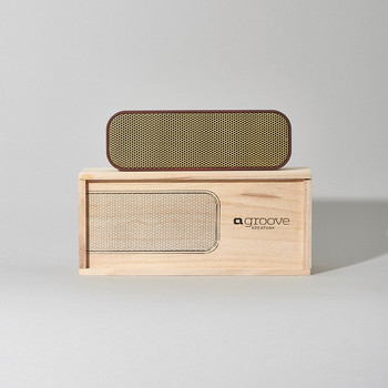 aGroove Bluetooth Speaker - Plum