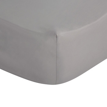 Mauve Egyptian Cotton Fitted Sheet