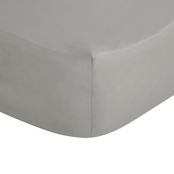 Platinum Egyptian Cotton Fitted Sheet