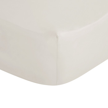 White Egyptian Cotton Fitted Sheet