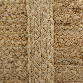 Braided Hemp Basket - Natural