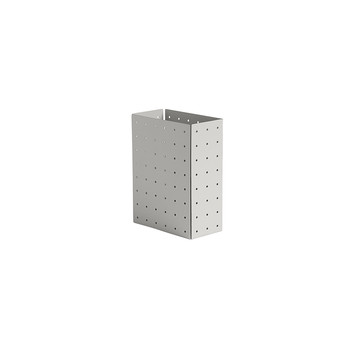 Punched Organizer Holder - Warm Gray