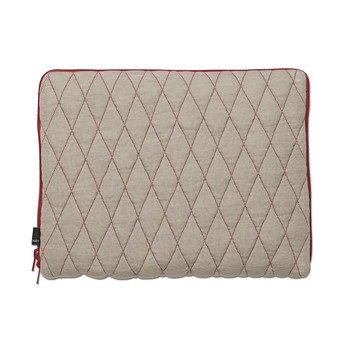 Quilt Sleeve Laptop Cover - Red