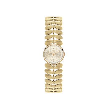 Ladies Laurel Watch - Gold