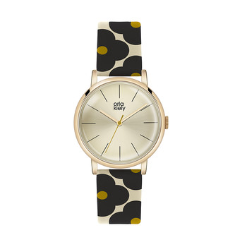 Ladies Patricia Watch - Black/Green