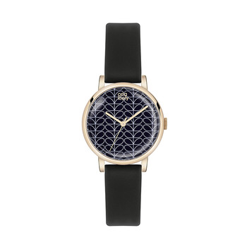 Ladies Patricia Watch - Black/Navy