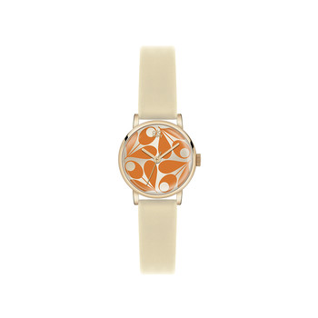 Ladies Patricia Watch - Brown/Orange